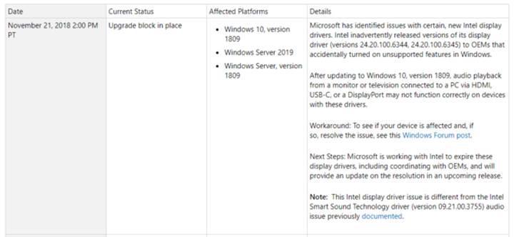 Windows 10 Ekim güncellemesi yine durduruldu