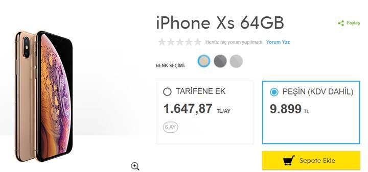 iPhone Xs ve iPhone XR, Türkiye fiyatı ve çıkış tarihi belli oldu!