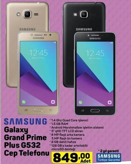 Haftaya BİM marketlerde kablosuz şarj aleti, A101 marketlerde Galaxy Grand Prime Plus var