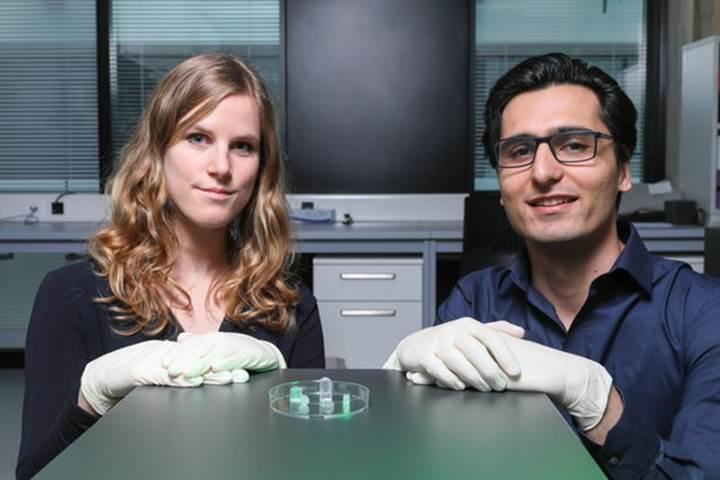 Dokuların iyileşmesine yardımcı hidrojel geliştirildi