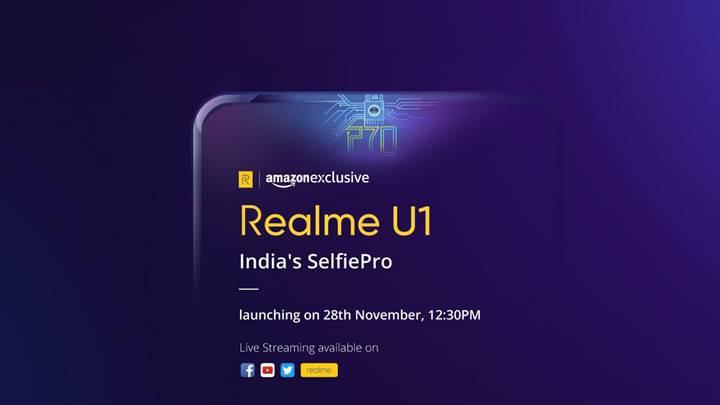 Realme U1'in tüm özellikleri lansman öncesi ortaya çıktı
