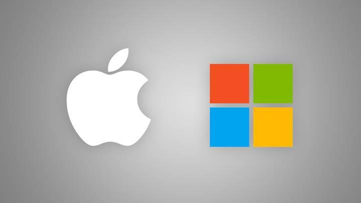 Microsoft, piyasa değeri olarak Apple'ı geçti