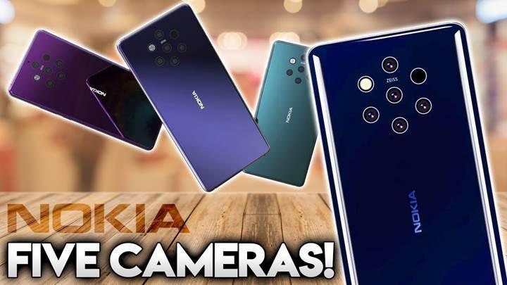 Beş arka kameralı Nokia 9 PureView'un lansmanı ertelendi