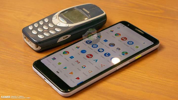 Pixel 3 Lite bu kez Nokia 3310 ile yan yana görüntülendi