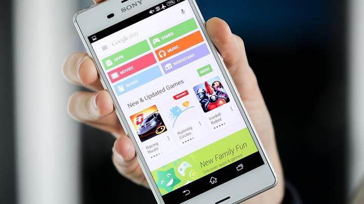 Google Play Store'un tasarımında yenilikler yapıldı