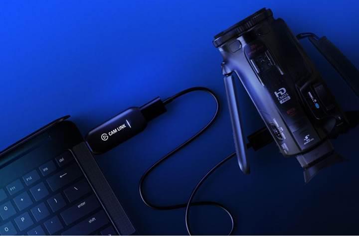Elgato Cam Link 4K ile kameralarınız web kamera haline geliyor