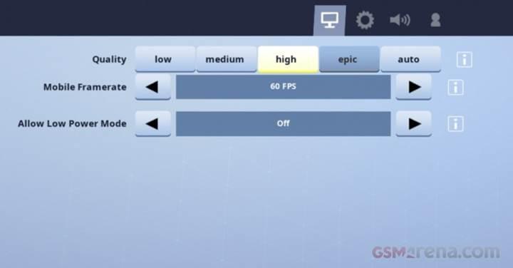 Fortnite'ın iOS versiyonuna 60 fps desteği geldi