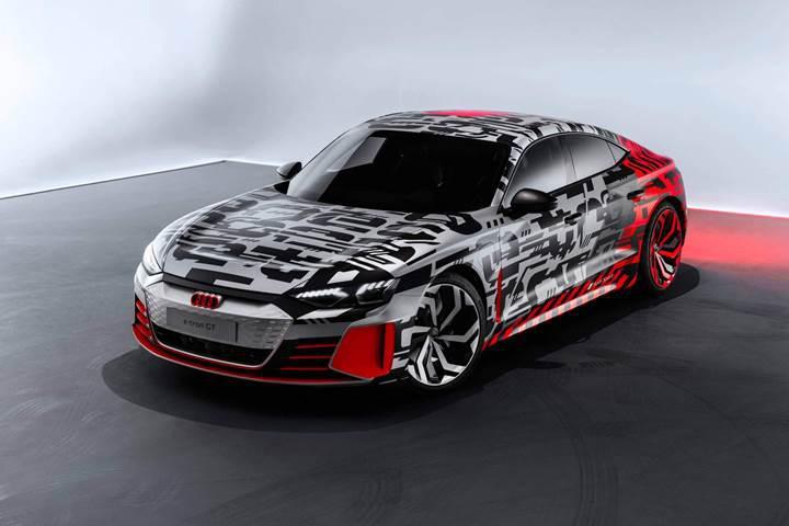 Audi e-tron GT Concept, fuar öncesi ilk resmi görselleriyle karşınızda