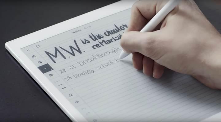 E Ink ekranlar sıfır gecikmeyle yazdıracak