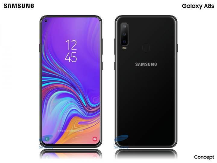 Galaxy A8s, 3.5 mm kulaklık girişi olmayan ilk Samsung telefon olabilir