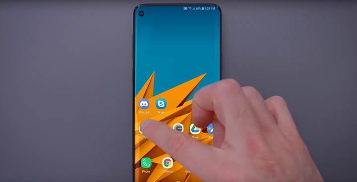 Galaxy S10'un Infinity-O ekranı işte böyle bir deneyim sunacak