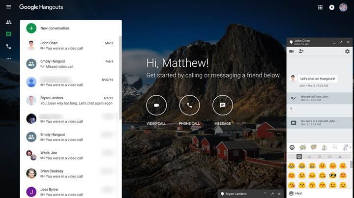 Google Hangouts 2020 yılında sonlandırılacak
