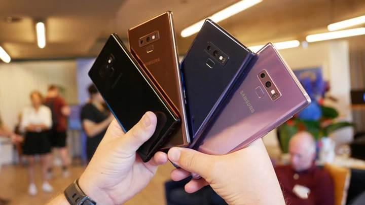 Samsung Galaxy S9 ve Note 9'un yeni renk seçenekleri internete düştü