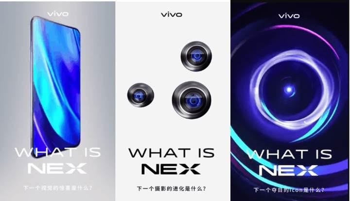 Çift ekranlı Vivo NEX Dual ile ilgili basın görselleri de geldi