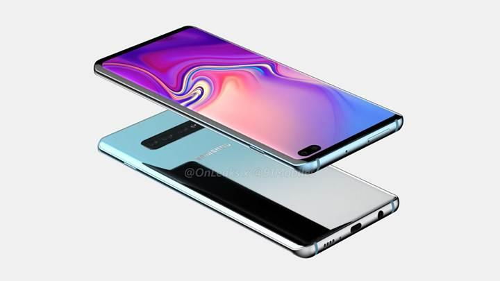 Samsung Galaxy S10 Plus'ın tasarımı açığa çıktı