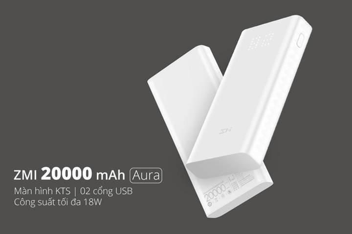 Xiaomi çift yönlü ZMI Aura şarj istasyonunu duyurdu