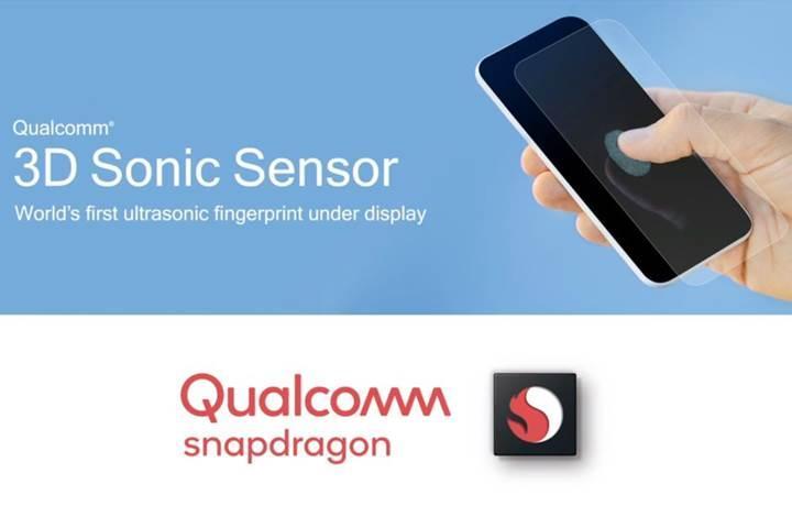 Qualcomm dünyanın ilk ekrana entegre ultrasonik parmak izi sensörünü duyurdu