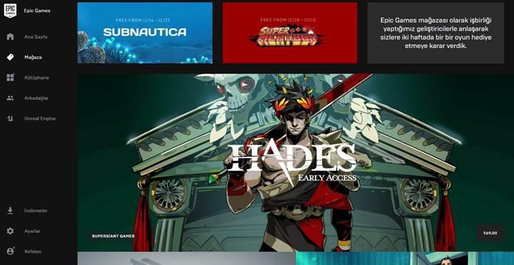 Epic Games Store, on dört oyunla beraber açıldı