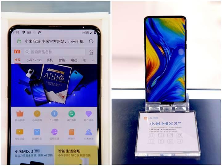 5G'li Xiaomi Mi Mix 3 yeni görüntüsüyle karşımızda