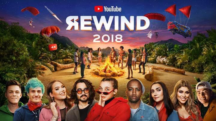 Youtube Rewind 2018 yayınlandı!