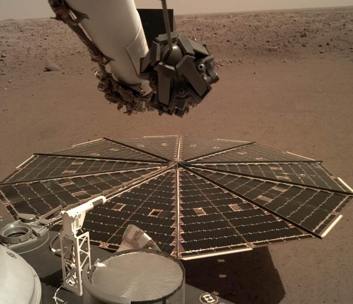 InSight uzay aracı, Mars rüzgarlarının sesini kaydetti