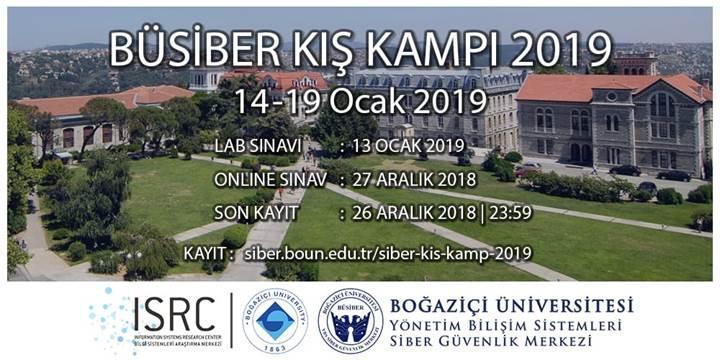 Boğaziçi Üniversitesi ücretsiz siber kış kampı başvuruları başladı
