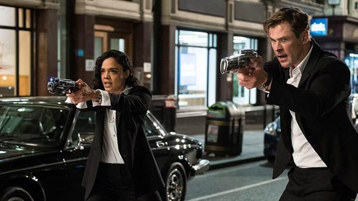 Chris Hemsworth'lü Men In Black filminden ilk sahne görseli geldi
