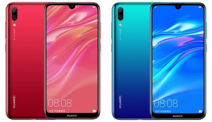 Su damlası çentikli Huawei Enjoy 9 resmen tanıtıldı