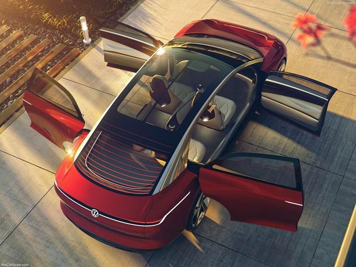 Touareg'in elektrikli versiyonu Volkswagen I.D. Lounge geliyor