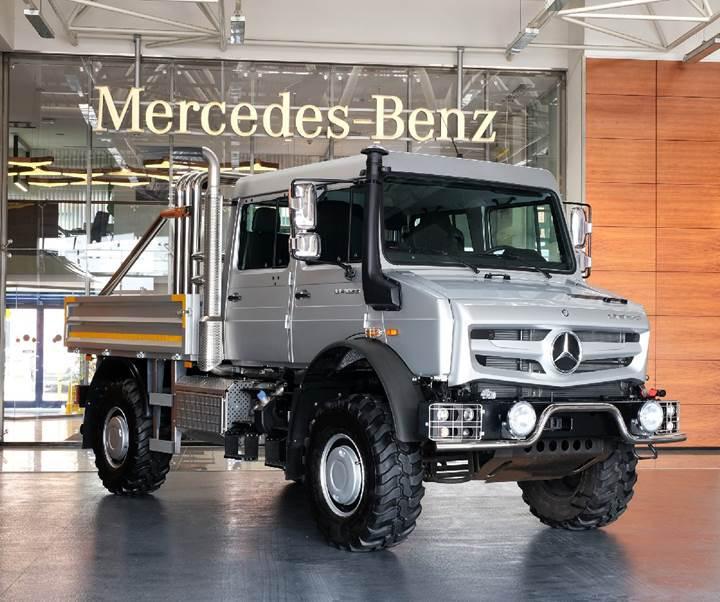 Mercedes'in efsanevi kamyonu Unimog, Türkiye'de satışa sunuldu