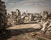 Mekânlar. Üçüncülük ödülü. Christian Werner, Suriye. Humus'ta yıkım.