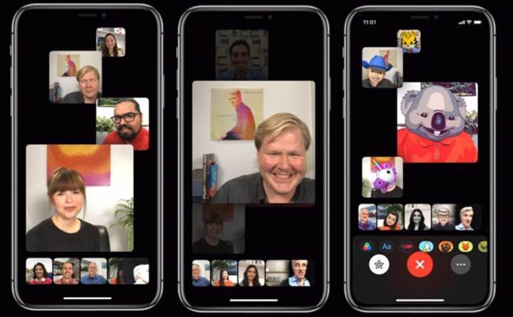 Apple, grup Facetime'ı daha gerçekçi yapmak için çalışıyor