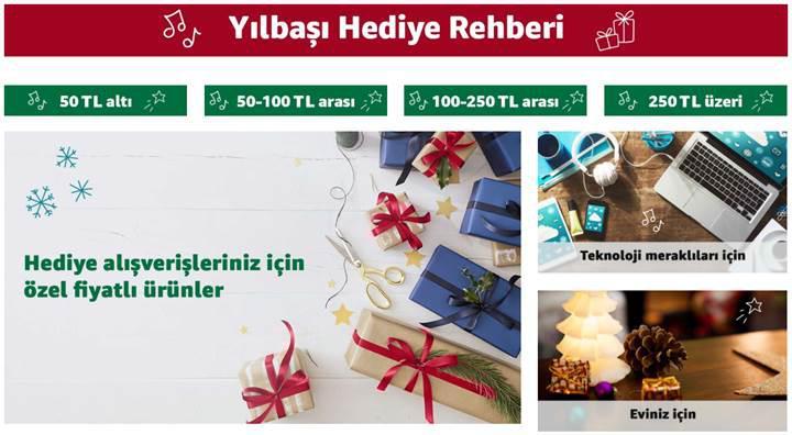 Amazon Türkiye'den yılbaşı hediye alışverişini kolaylaştıran rehber