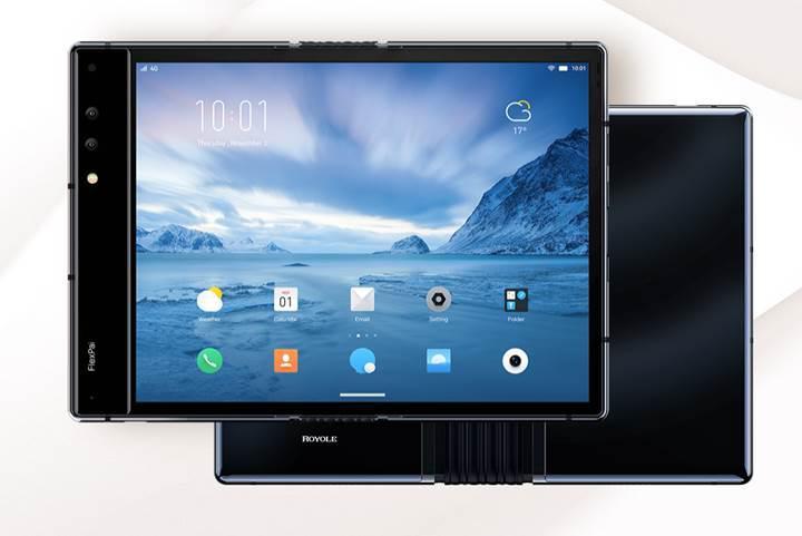 Dünyanın ilk katlanabilir telefonu FlexPai, Snapdragon 855 ile birlikte satışa sunuldu