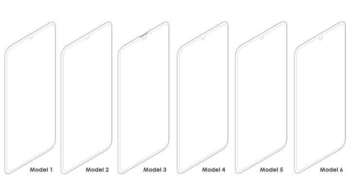 Samsung'un yeni çentik tasarımları ortaya çıktı