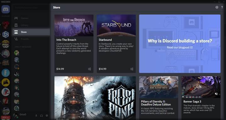 Discord, düşük komisyon oranlarıyla kendi oyun mağazasını genişletiyor