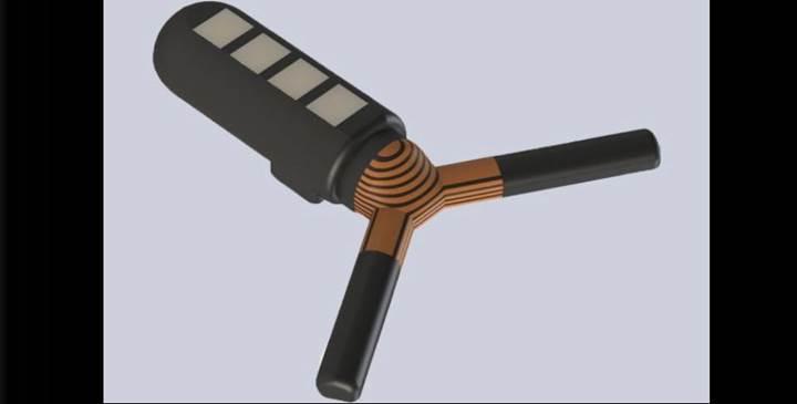 Bluetooth ile kontrol edilen yutulabilir kapsül