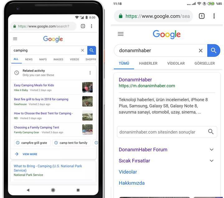 Google'un yeni materyal tasarımı mobil cihazlar için sunuldu