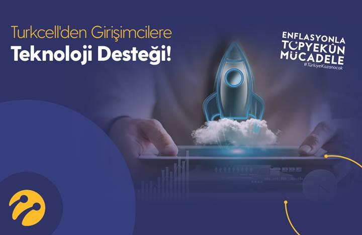 Turkcell'den girişimcilere 100 bin liralık teknoloji desteği