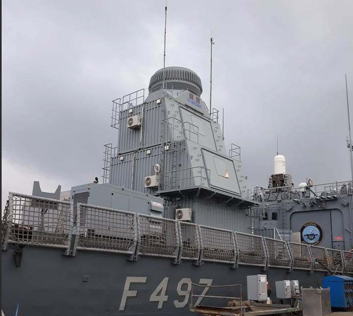 Türk savaş gemilerinin yeni gücü ÇAFRAD ilk sınavı geçti