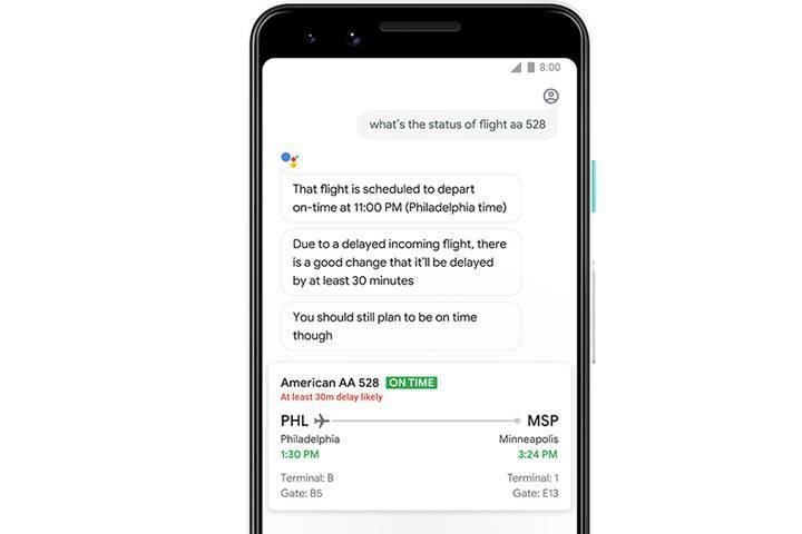 Google Asistan ertelenebilecek uçak seferleri için kullanıcıları uyaracak