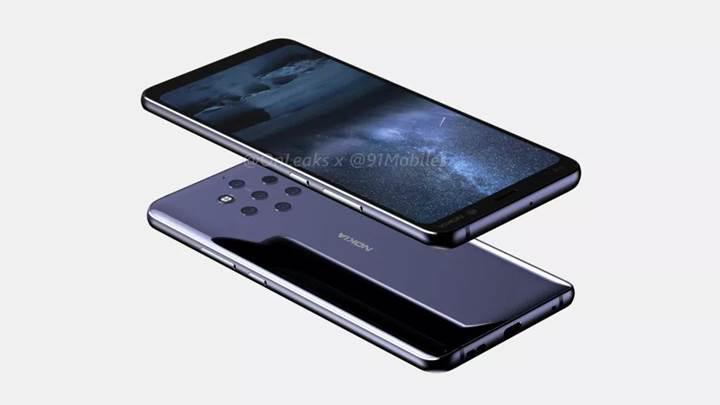 Beş arka kameralı Nokia 9 PureView için geri sayım başladı