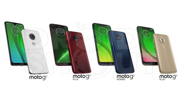 Moto G7 serisinin basın görseli internete sızdırıldı