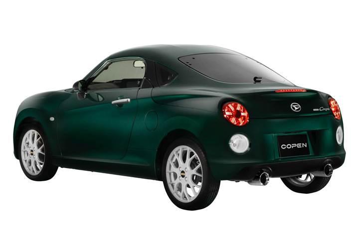 Bir dönem Türkiye'de de satılan Daihatsu Copen'in coupe versiyonu tanıtıldı