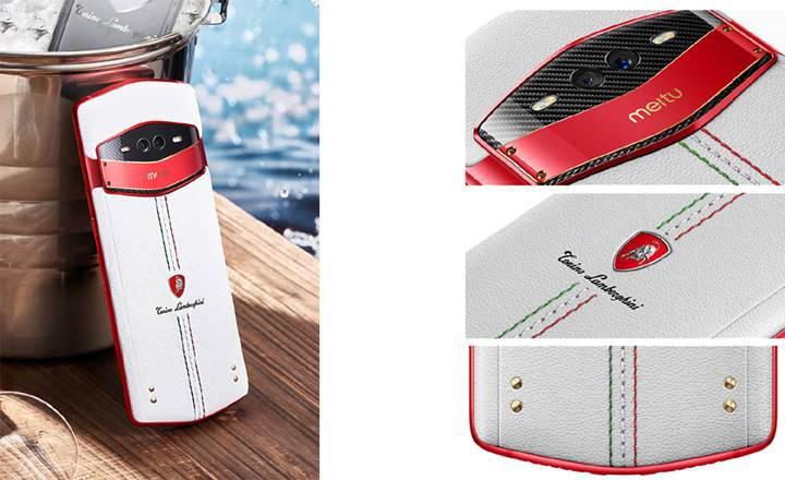 3 ön kameralı Meitu V7 Tonino Lamborghini tanıtıldı