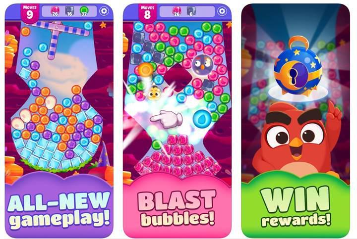 Angry Birds Dream Blast ön kayıtlara başladı