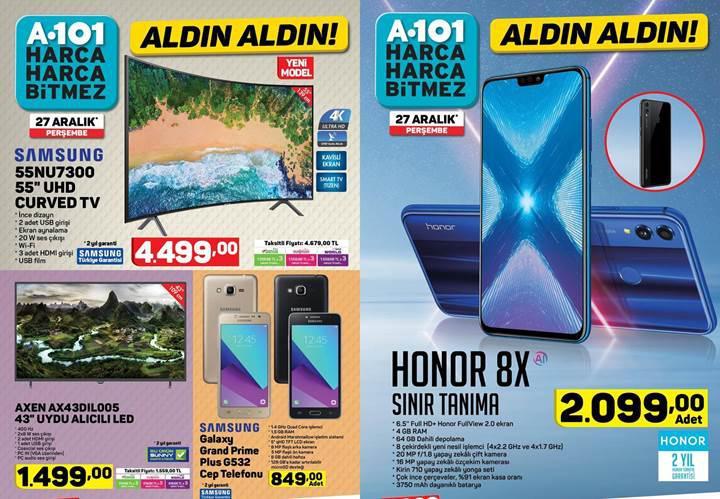 Haftaya A101 marketlerde daha ucuz Honor 8X var, BİM marketler uygun fiyata Meizu hoparlör satacak