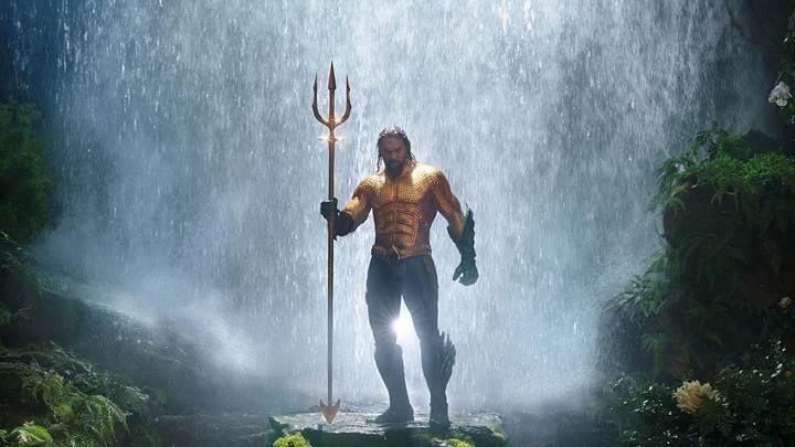 Aquaman gişedeki yolculuğuna hızlı başladı