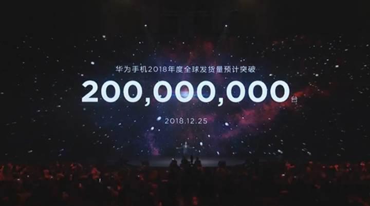 Huawei 200 milyon cihazlık satış hedefine ulaşmayı başardı