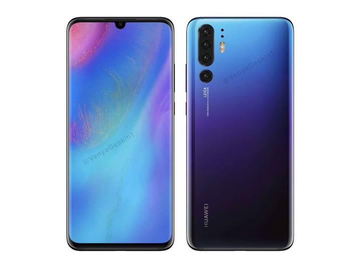 Huawei P30 Pro'ya ait olduğu iddia edilen yeni bir görsel sızdırıldı